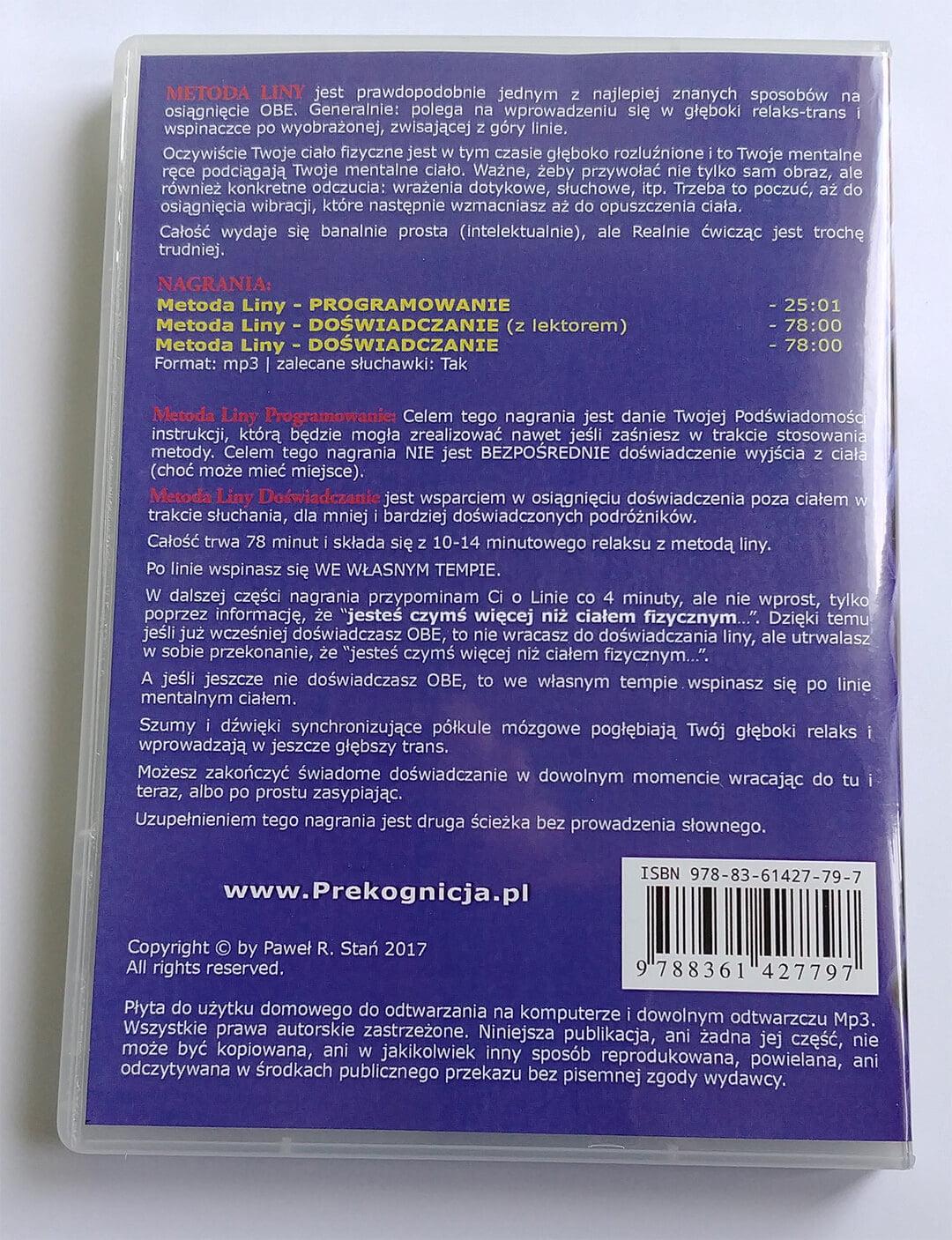 OBE - Metoda Liny na CD