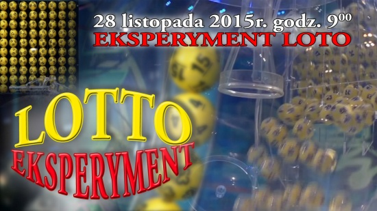 Eksperyment Lotto