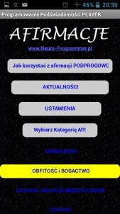 Afirmacje Mp3 - Programowanie Podświadomości APK