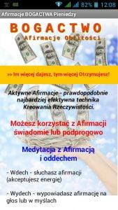 Afirmacje Pieniędzy - mp3 APK