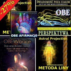 OBE - pakiet 5 medytacji do opuszczania ciała