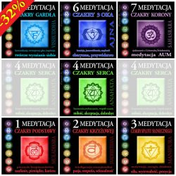 Medytatcja z czakrami - komplet medytacji