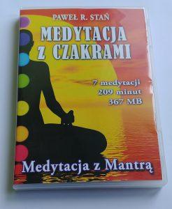 Medytacje do pracy z czakrami - CD czakry i medytacja