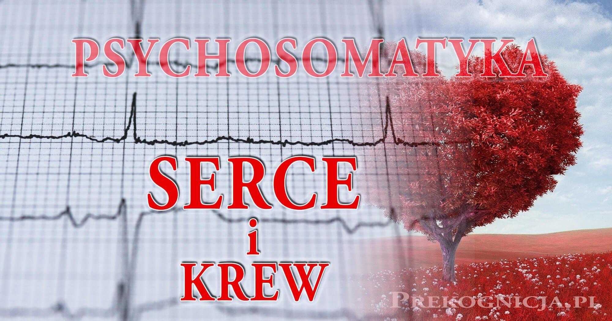 Psychosomatyka: Krew, Serce, krążenie krwi