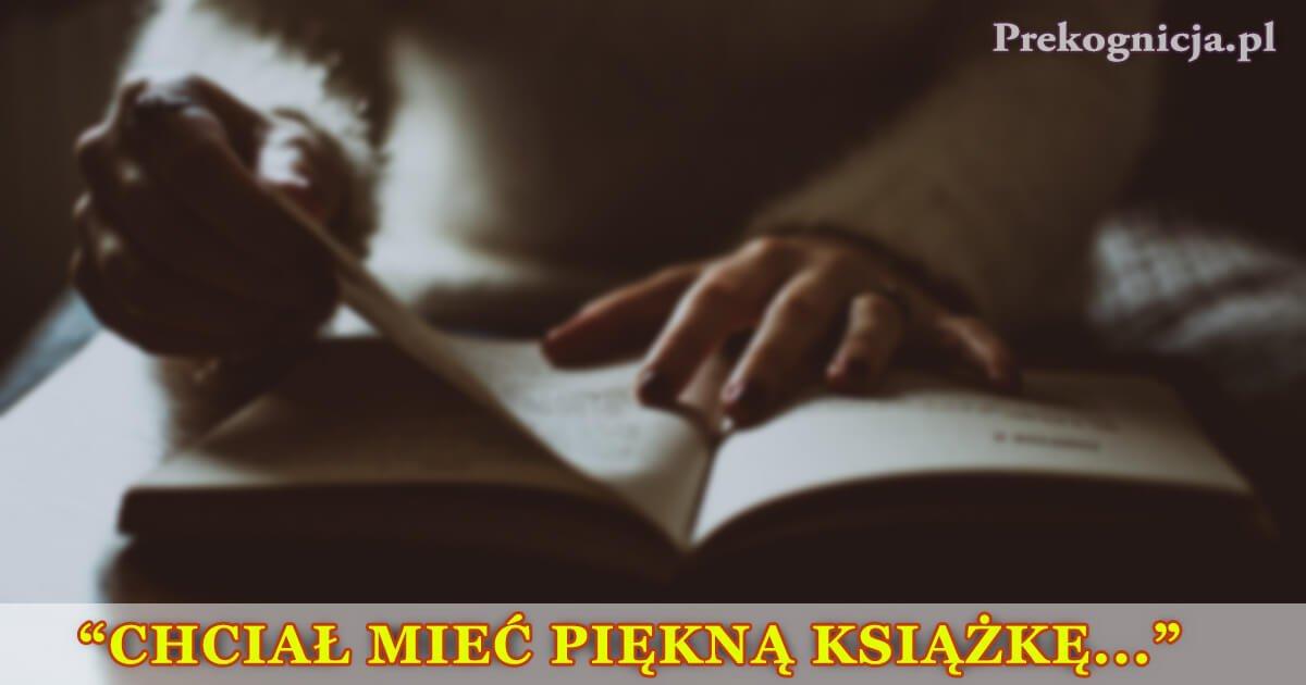 Przypowieść: Człowiek z książką