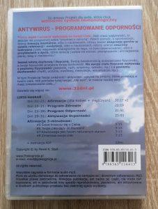 Programowanie Odporności, DVD back