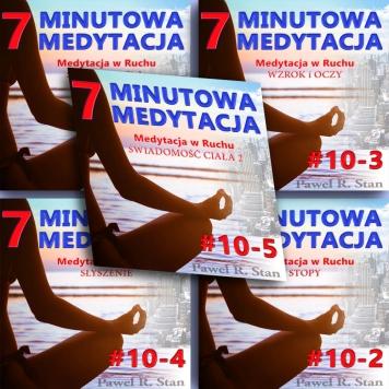 7-minutowa medytacja w ruchu - komplet 5 medytacji