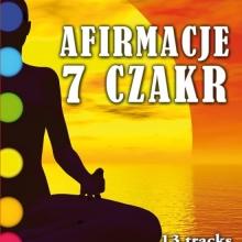 Afirmacje 7 Czakr na CD (komplet afirmacji do pracy z czakrami)