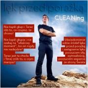 Lęk przed Porażką – CLEANing – jak pozbyć się strachu przed porażką?