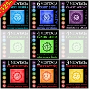Medytacja z czakrą  – komplet medytacji czakry 1-7