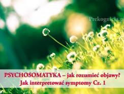 PSYCHOSOMATYKA – jak rozumieć objawy? CIEŃ w Psychosomatyce