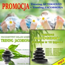 Trening autogenny Schultza + Trening Jacobsona (PROMOCJA)